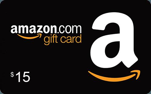 $15 Amazon Gift Card